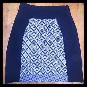 Pink Martini XS Blue Pencil Skirt